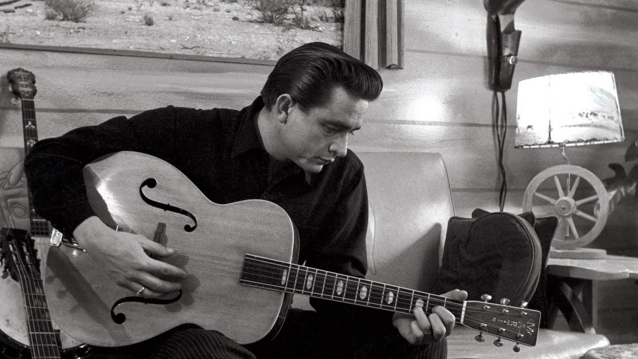 JOHNNY CASH countrywestern country western blues singer 1jcash actor folk rockabilly gospel rock roll guitar wallpaper