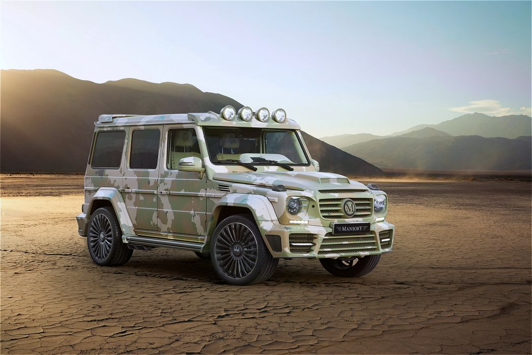 2015 Mansory Mercedes-Benz G63 AMG Sahara Edition W463 Mercedes gelendvagen gelik desert cars landscapes speed motors  wallpaper