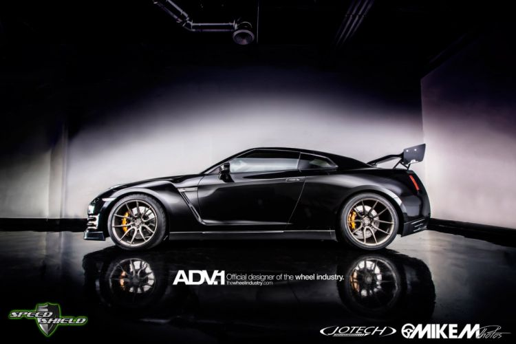 ADV 1 WHEELS nissan GTR cars tuning wallpaper
