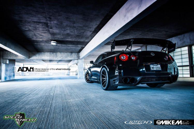ADV 1 WHEELS nissan GTR cars tuning wallpaper