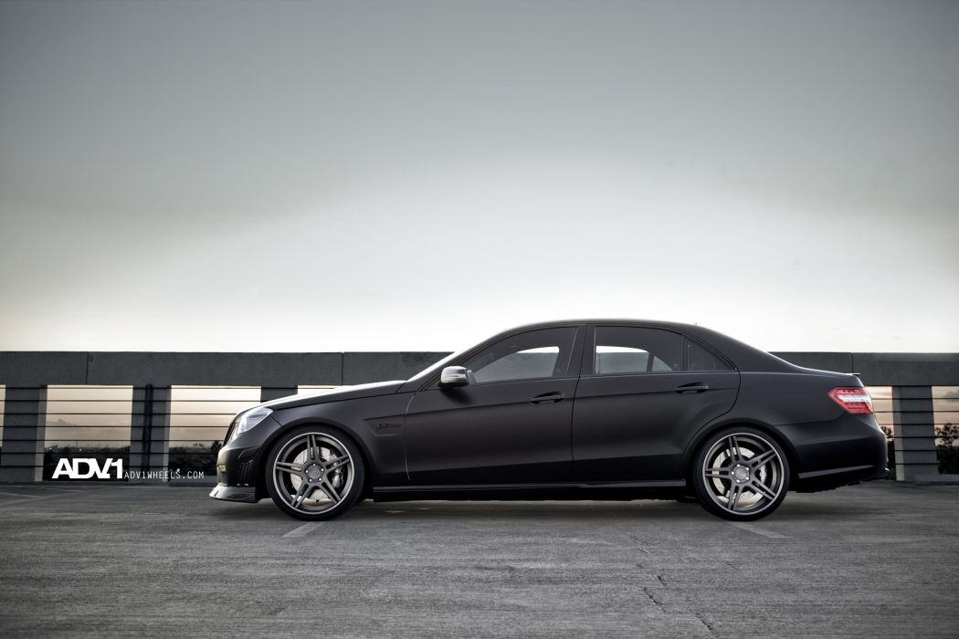 adv1 cars MERCEDES Tuning wheels BLACK wallpaper
