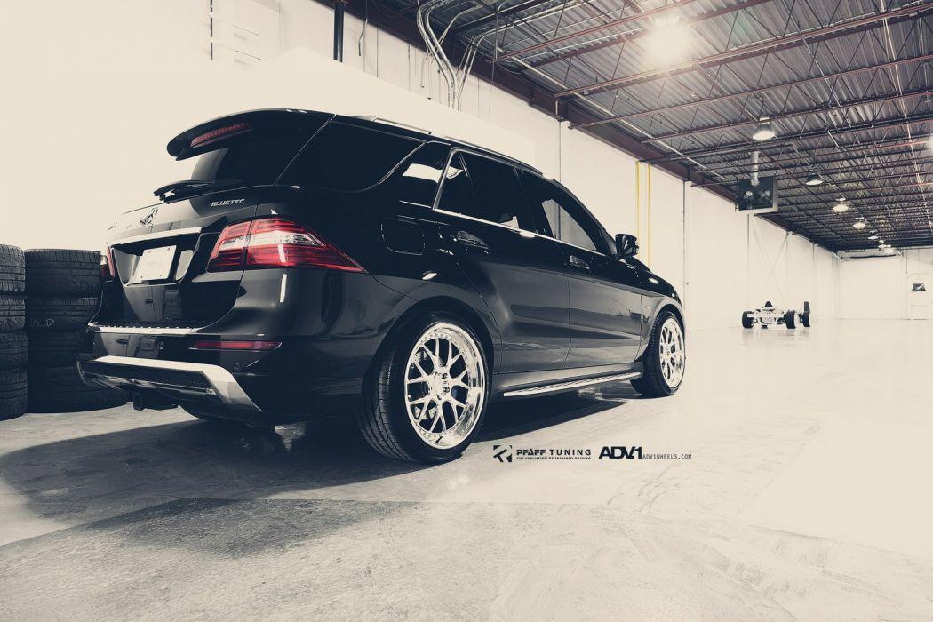 adv1 cars MERCEDES Tuning wheels BLACK wallpaper