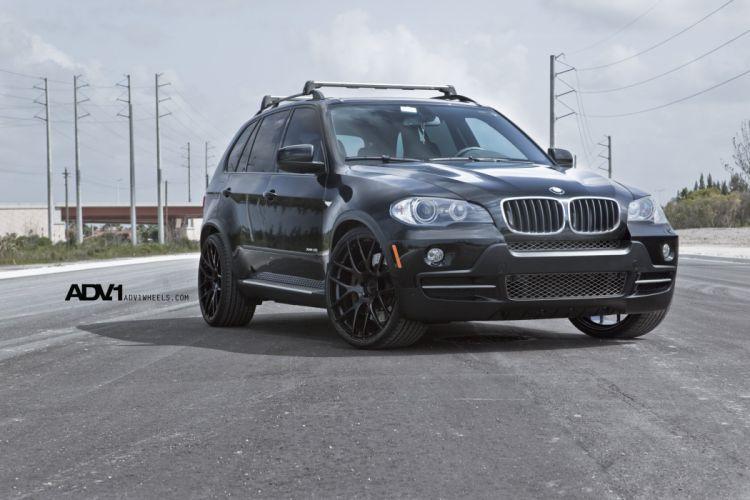 adv1 cars BMW Tuning wheels BLACK wallpaper