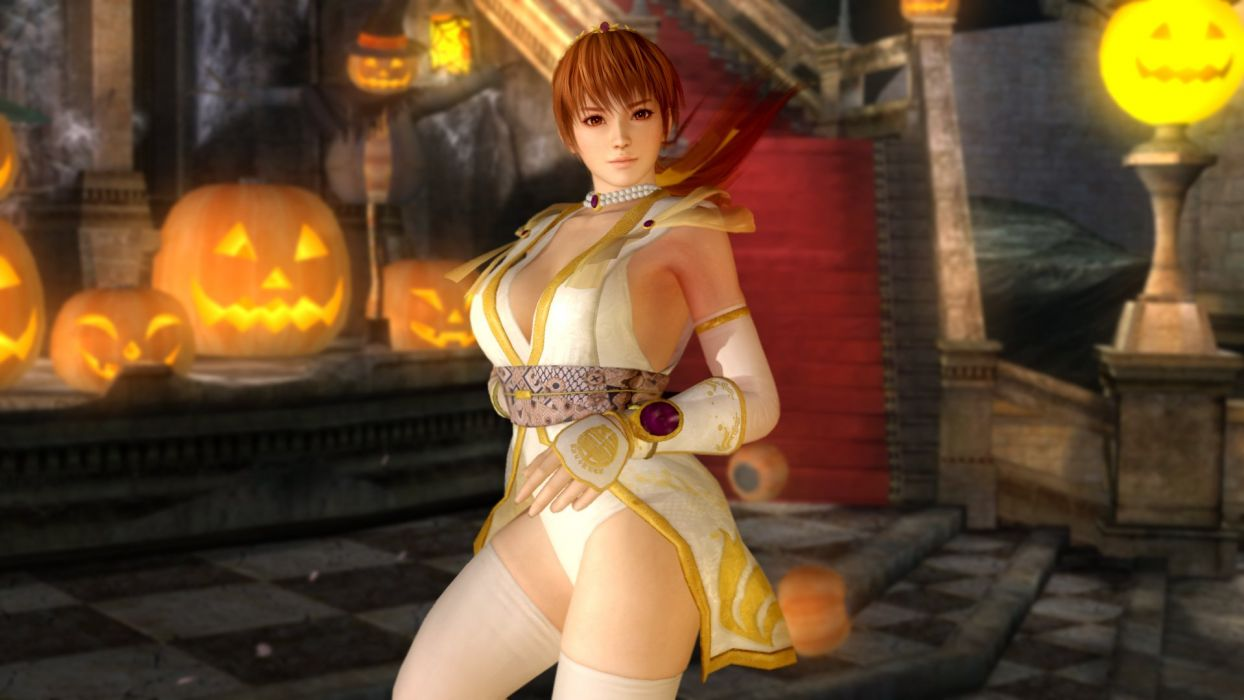 DEAD OR ALIVE Deddo Oa Araibu fighting doa 1dalive action warrior martial ninja arcade girl babe sexy wallpaper