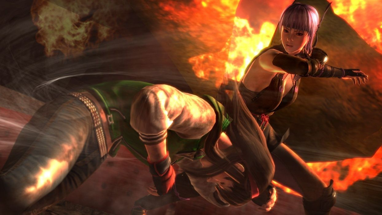 DEAD OR ALIVE Deddo Oa Araibu fighting doa 1dalive action warrior martial ninja arcade girl babe wallpaper