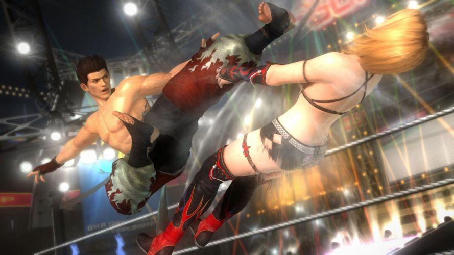 DEAD OR ALIVE Deddo Oa Araibu fighting doa 1dalive action warrior martial ninja arcade girl babe wallpaper