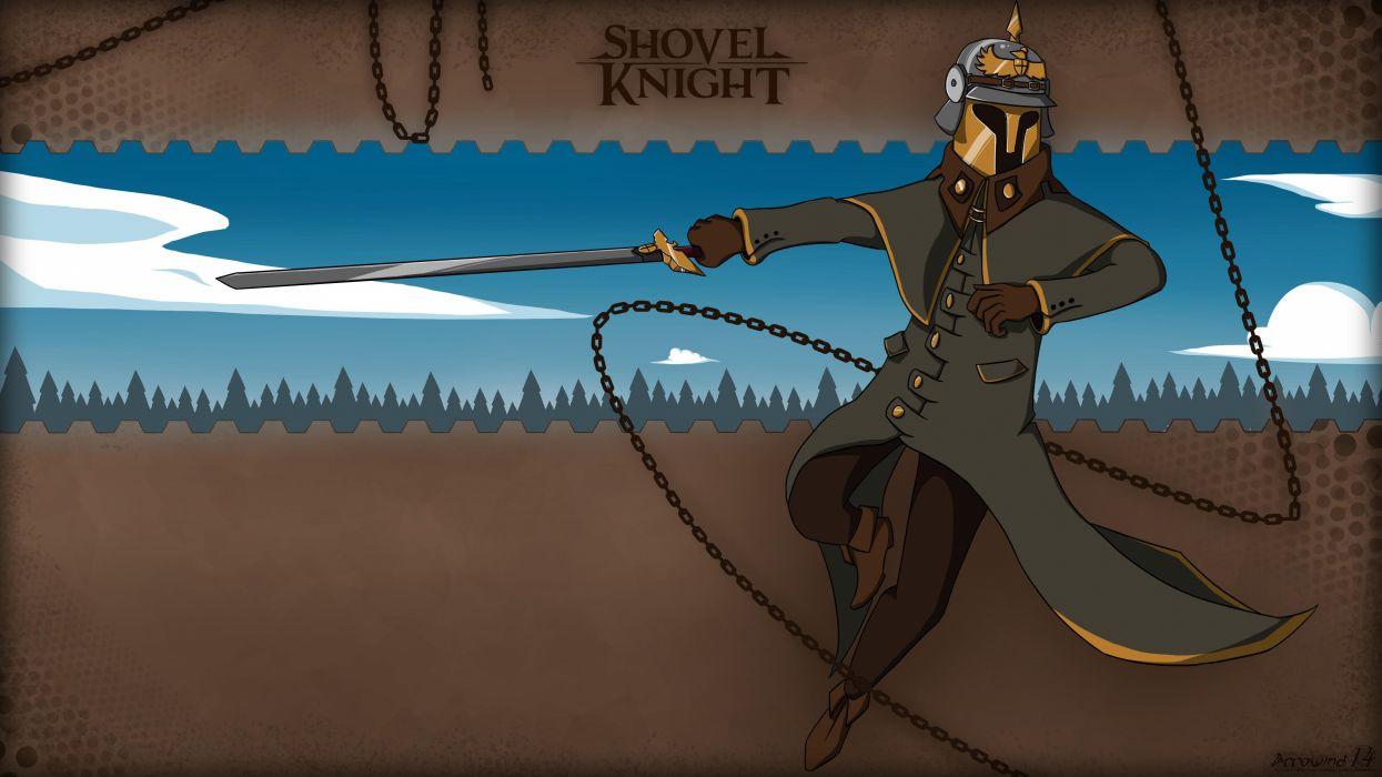 SHOVEL KNIGHT action adventure fighting warrior scrolling platform 1shov wallpaper