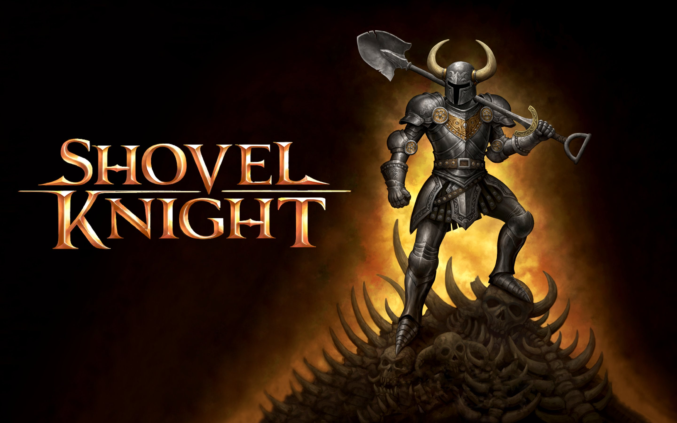 SHOVEL KNIGHT Action Adventure Fighting Warrior Scrolling