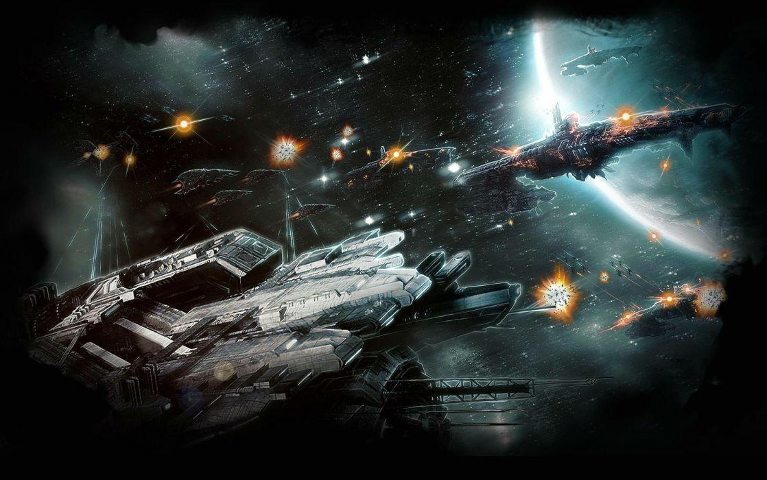 DEFENSE TECHNICA sci-fi tower defense fighting futuristic 1dtech spaceship space planet wallpaper