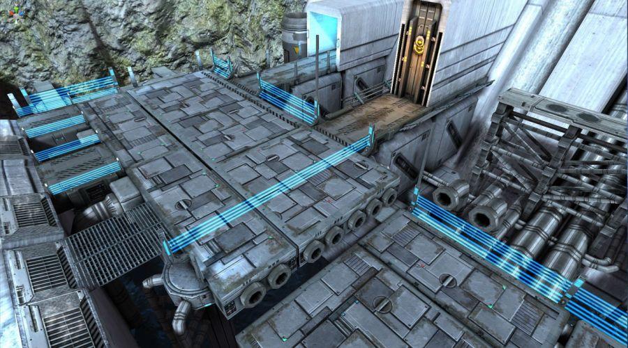 DEFENSE TECHNICA sci-fi tower defense fighting futuristic 1dtech wallpaper