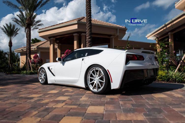 2015 Incurve Wheels cars tuning C7 Corvette wallpaper