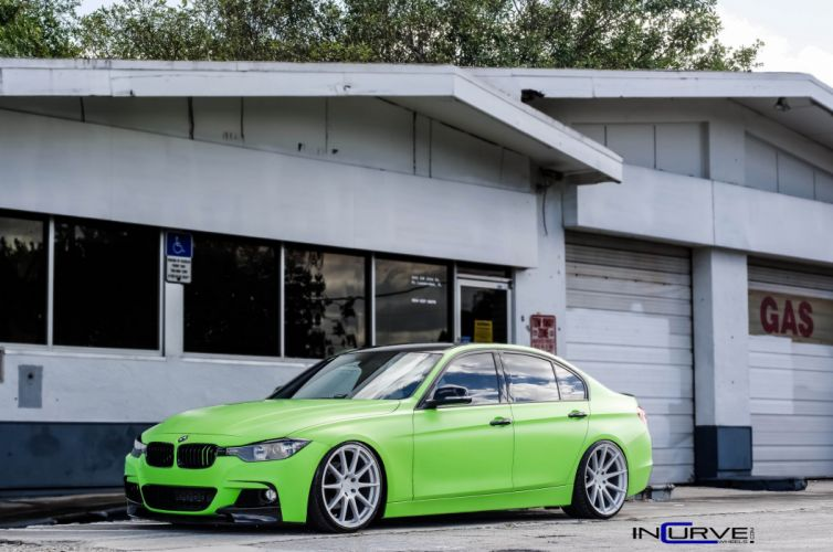 2015 Incurve Wheels cars tuning BMW F30 wallpaper