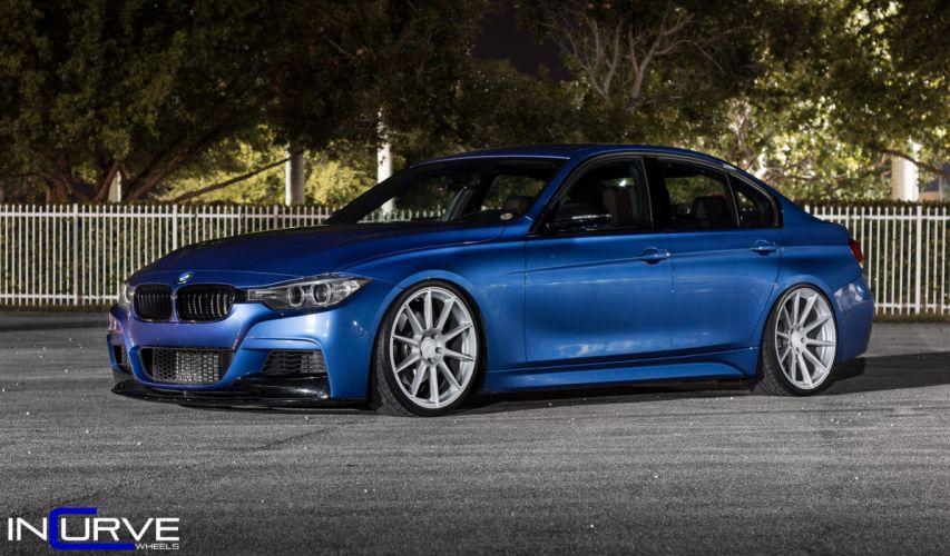2015 Incurve Wheels cars tuning BMW F30 wallpaper