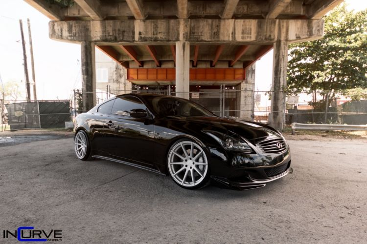 2015 Incurve Wheels cars tuning Infiniti G37 wallpaper