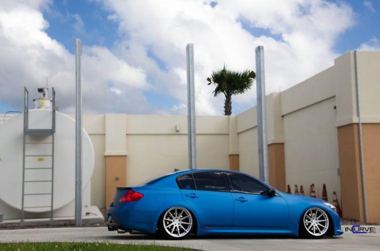 2015 Incurve Wheels cars tuning Infiniti G35 Sedan wallpaper