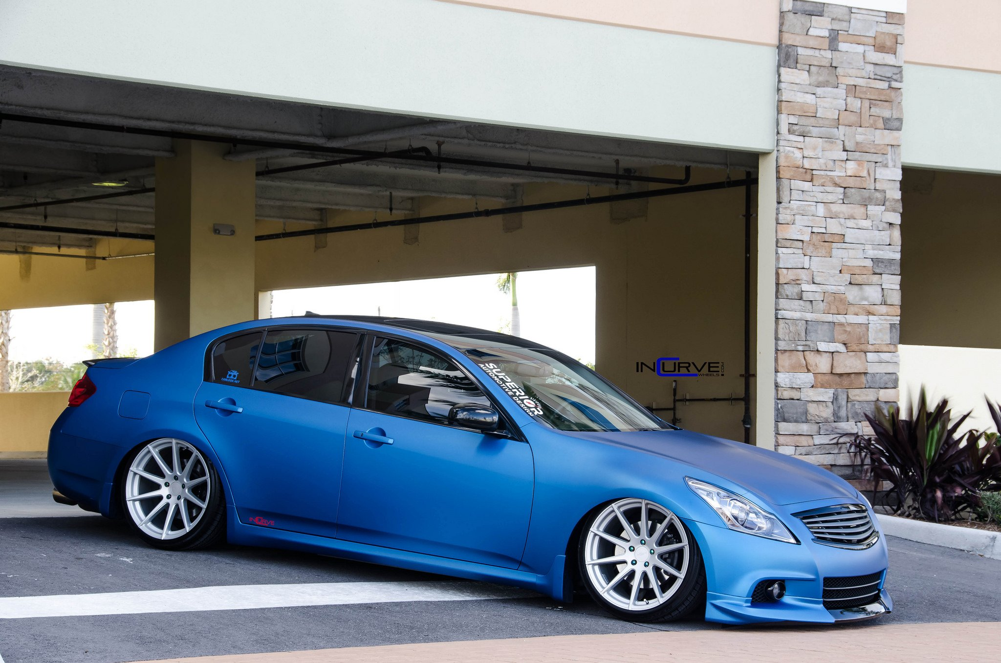 2015 Incurve Wheels Cars Tuning Infiniti G35 Sedan