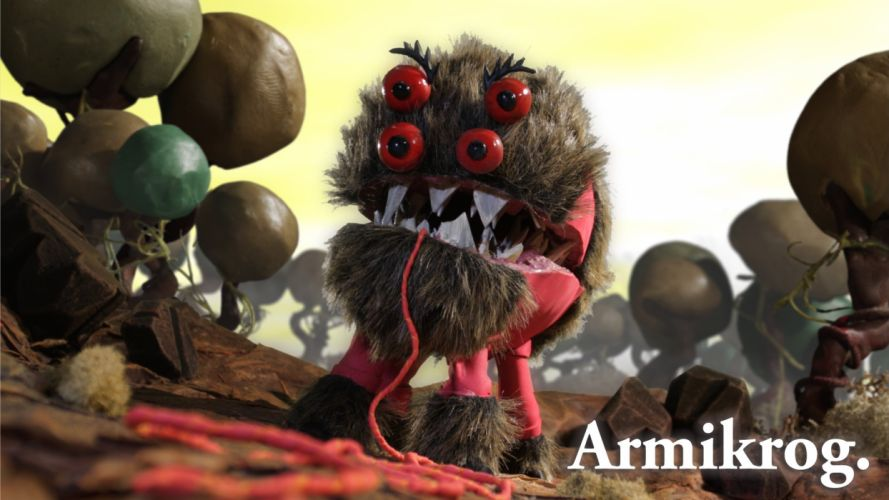 ARMIKROG stop motion clay animation adventure point click sci-fi wallpaper
