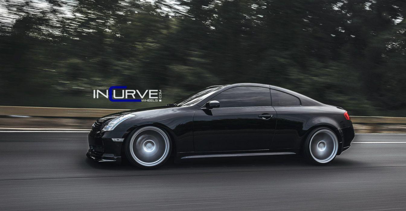 Beau ... 2015 Incurve Wheels Cars Tuning Infiniti G35 Coupe Wallpaper