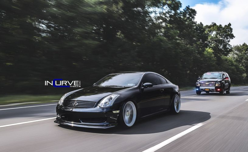 2015 Incurve Wheels cars tuning Infiniti G35 coupe wallpaper