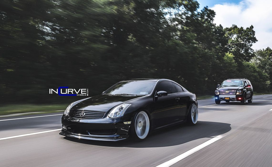 Ordinaire Source · 2015 Incurve Wheels Cars Tuning Infiniti G35 Coupe Wallpaper