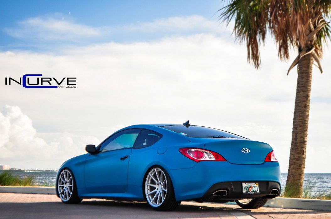 2015 Incurve Wheels cars tuning Genesis Coupe wallpaper