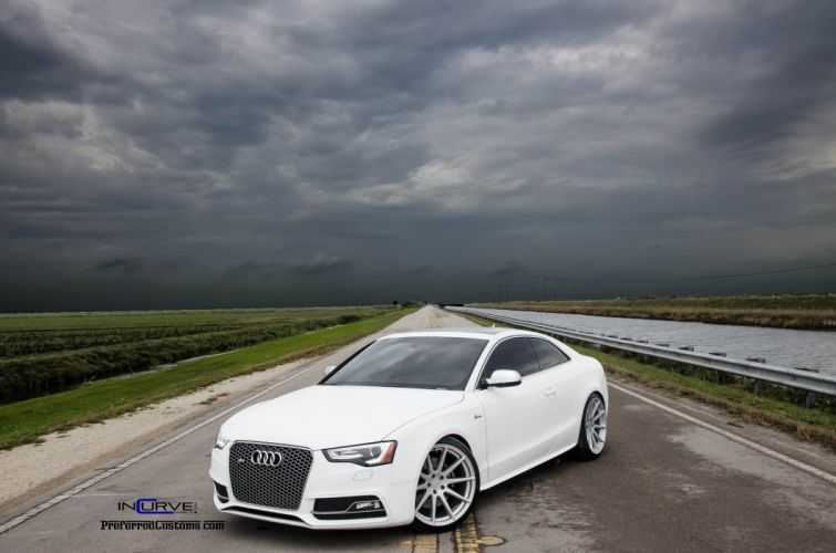 2015 Incurve Wheels cars tuning Audi S 5 coupe wallpaper