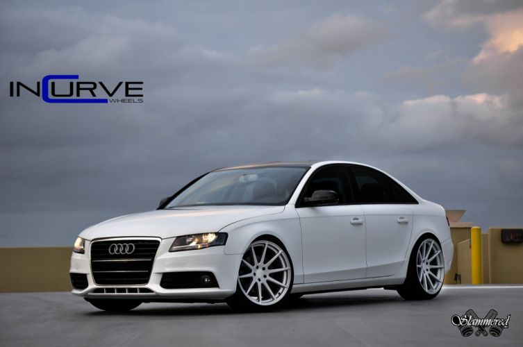 2015 Incurve Wheels cars tuning Audi A4 SEDAN wallpaper