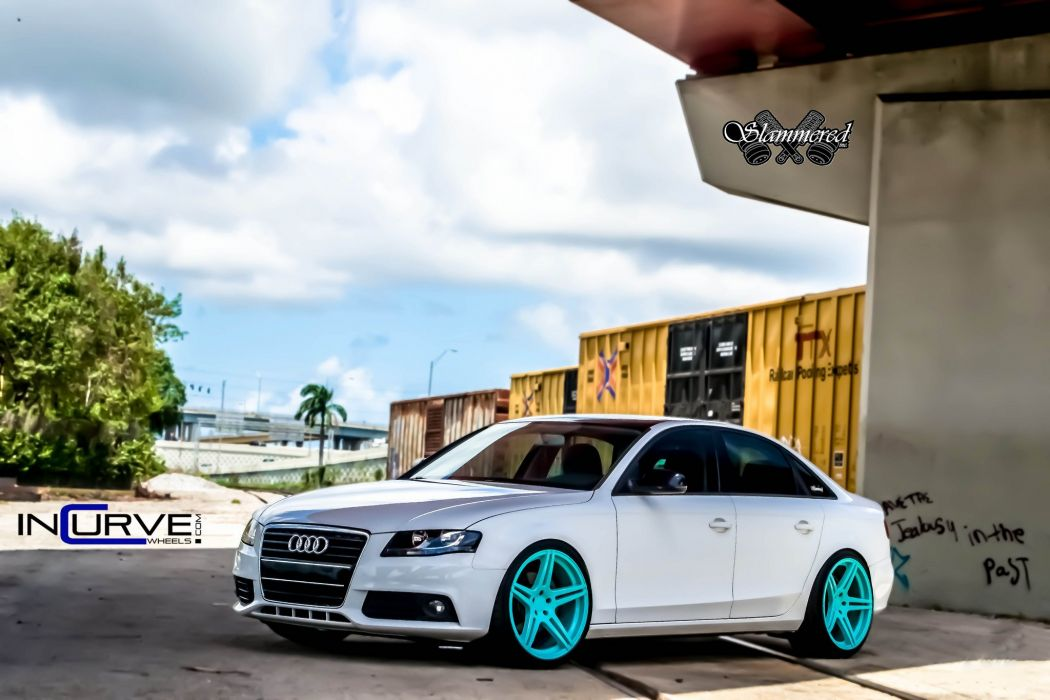 2015 Incurve Wheels cars tuning Audi A4 SEDAN wallpaper