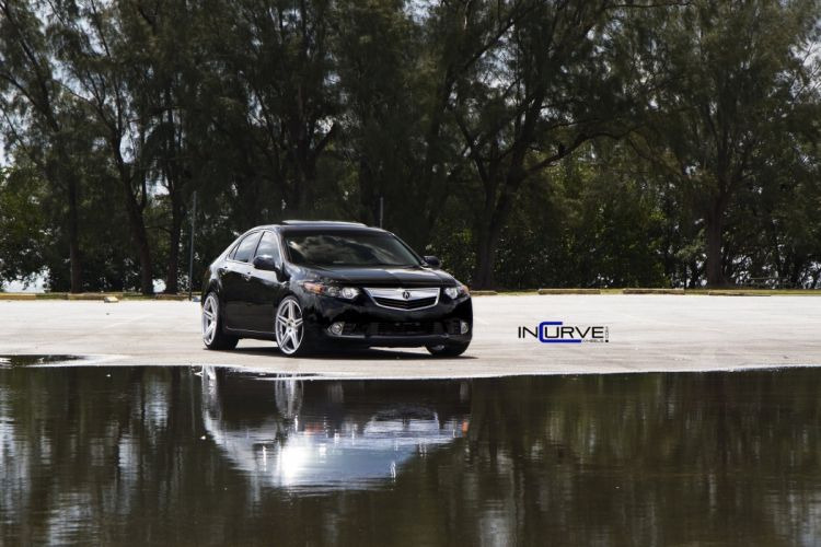 2015 Incurve Wheels cars tuning Acura TSX wallpaper