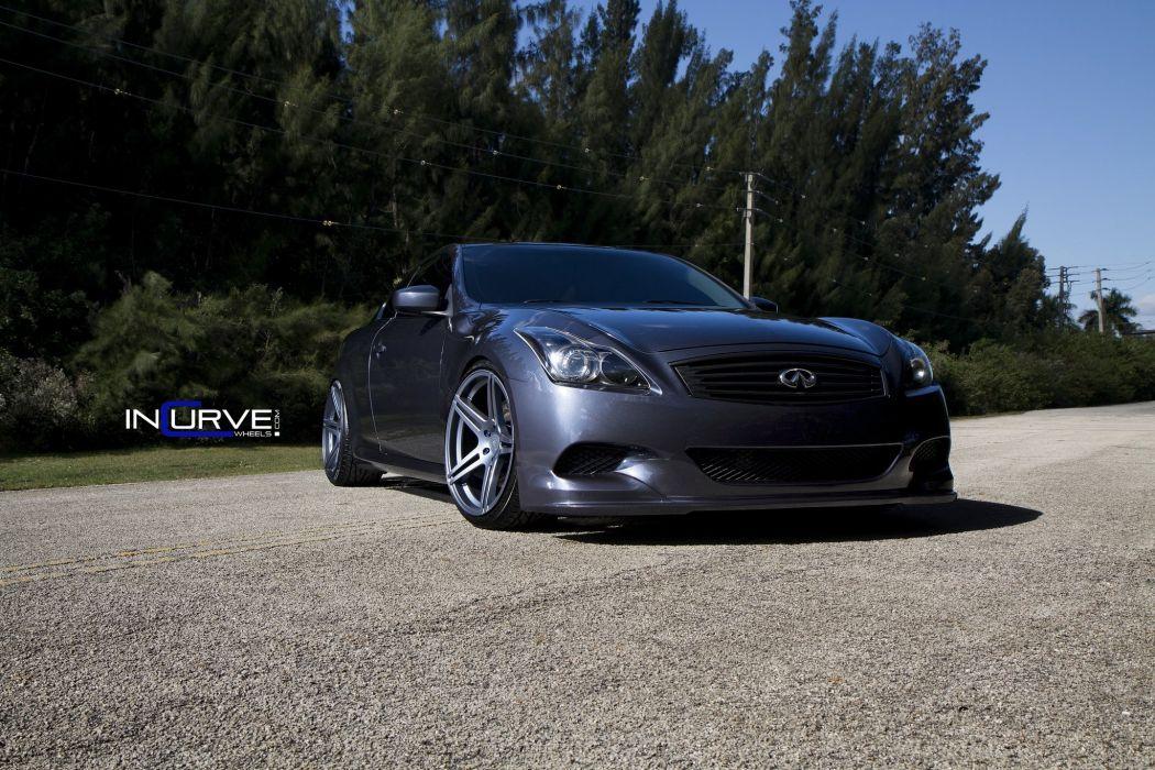 2015 Incurve Wheels cars tuning G37s infiniti wallpaper