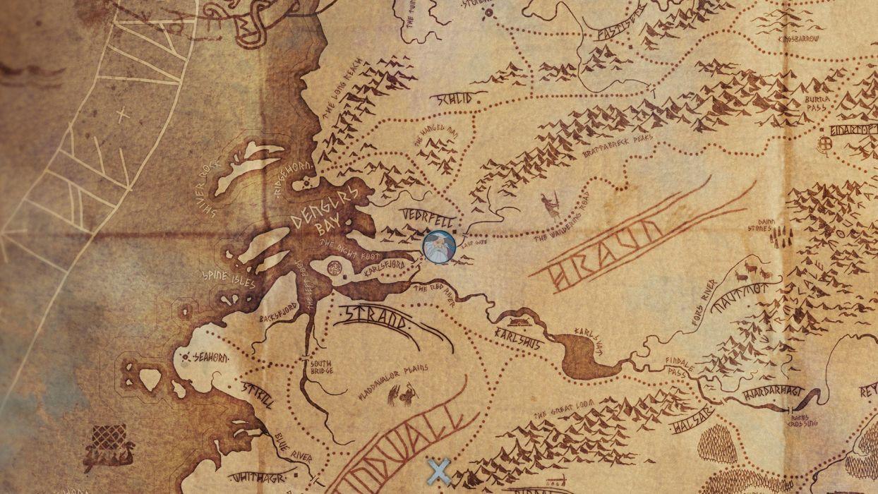 BANNER SAGA adventure fantasy tactical rpg viking fighting strategy 1bsaga warrior wallpaper