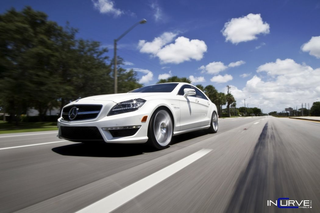 2015 Incurve Wheels cars tuning CLS63 AMG mercedes wallpaper