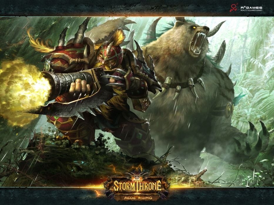 STORMTHRONE Online mmo fantasy fighting ccg card 1sthrone action rpg warrior wallpaper