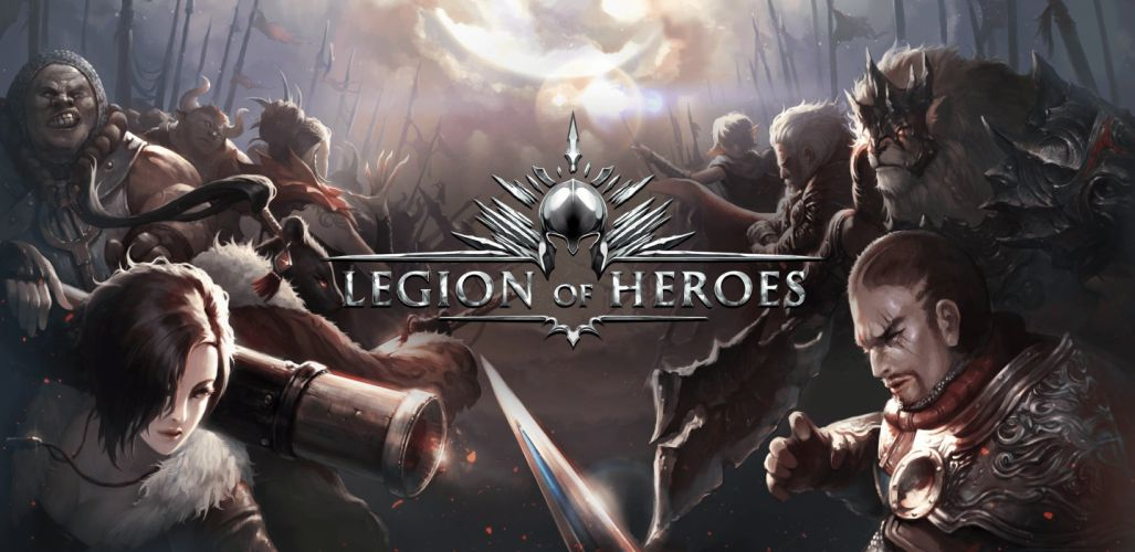 LEGION Of HEROES fantasy mmo online rpg action fighting 1loh strategy warrior wallpaper