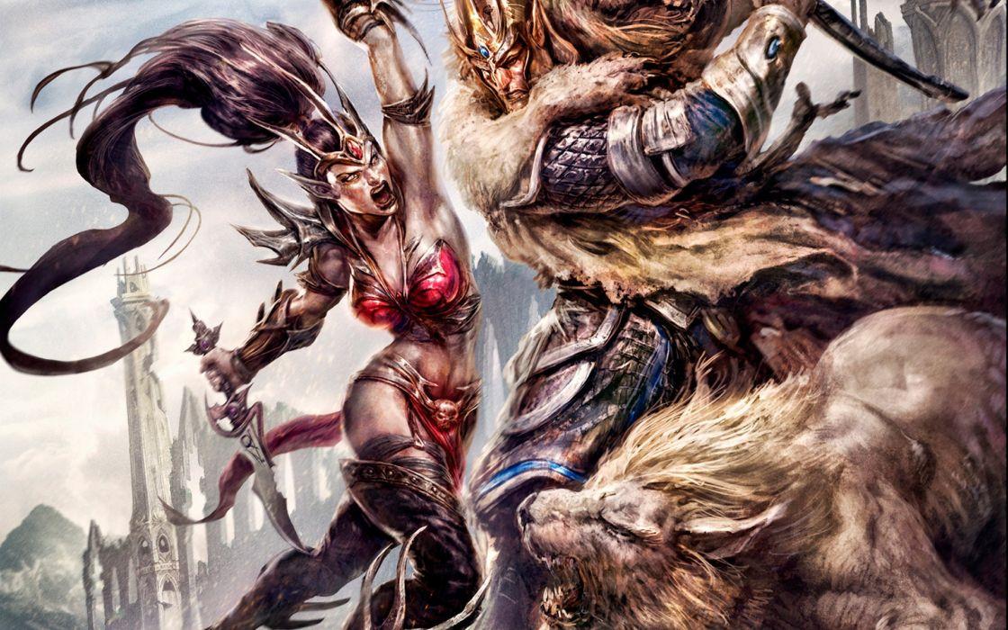 Warhammer Online Age Of Reckoning Battle Warrior Elves Games Fantasy