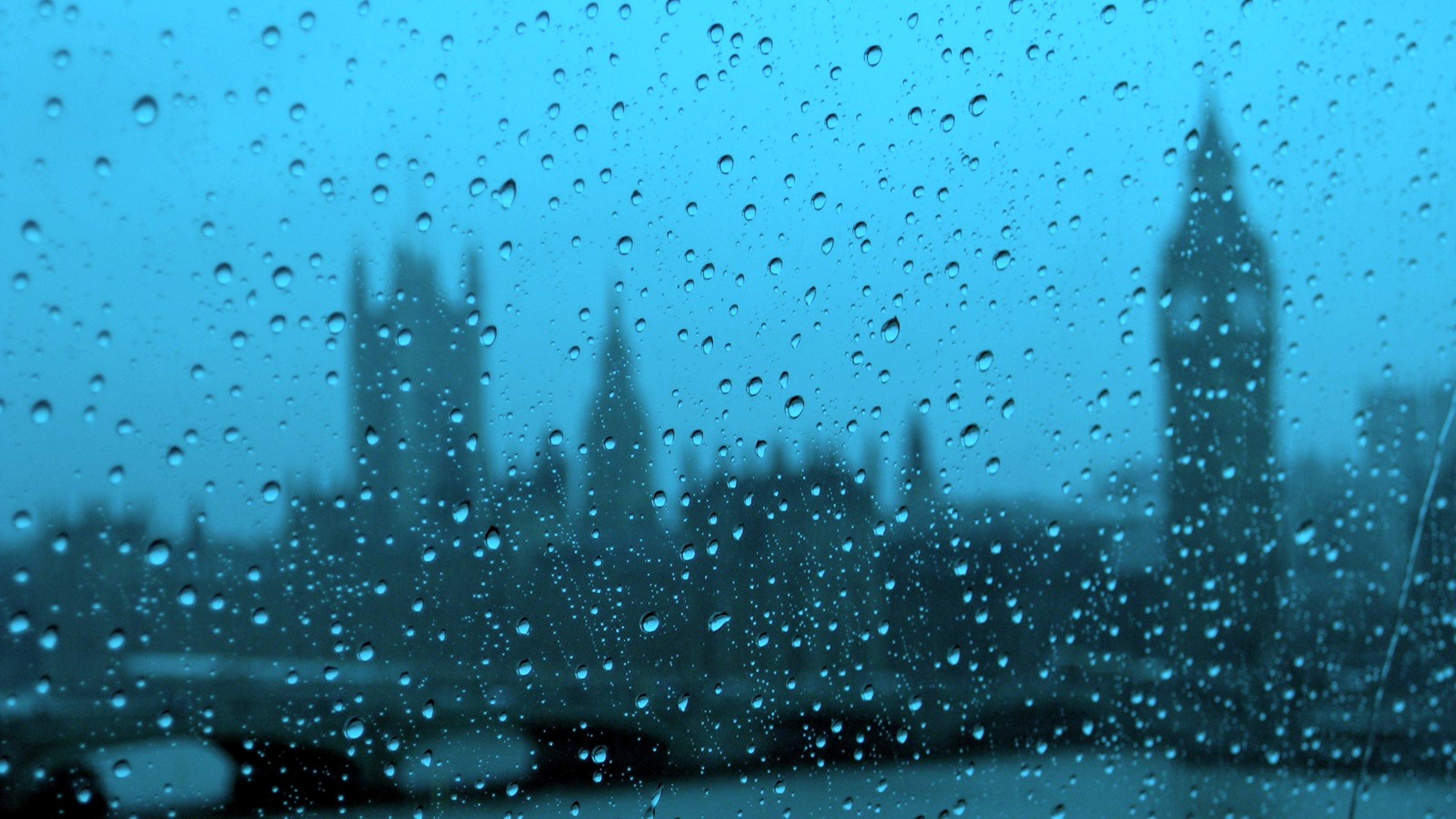 Cloudy UK drops glass Rain Windows london europ wallpaper ...