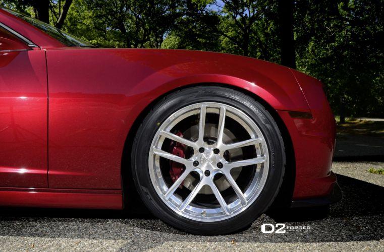 D2FORGED Wheels tuning cars Camaro SS wallpaper