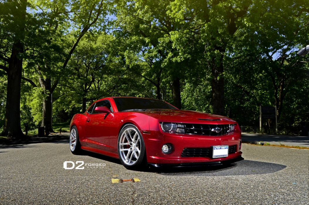 D2FORGED Wheels tuning cars Camaro SS wallpaper