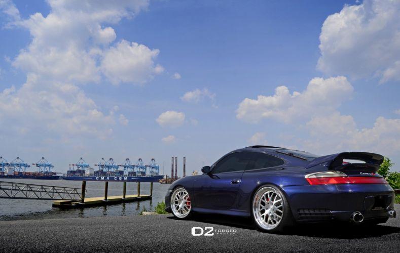 D2FORGED Wheels tuning cars Porsche 911 Carrera 4 S wallpaper