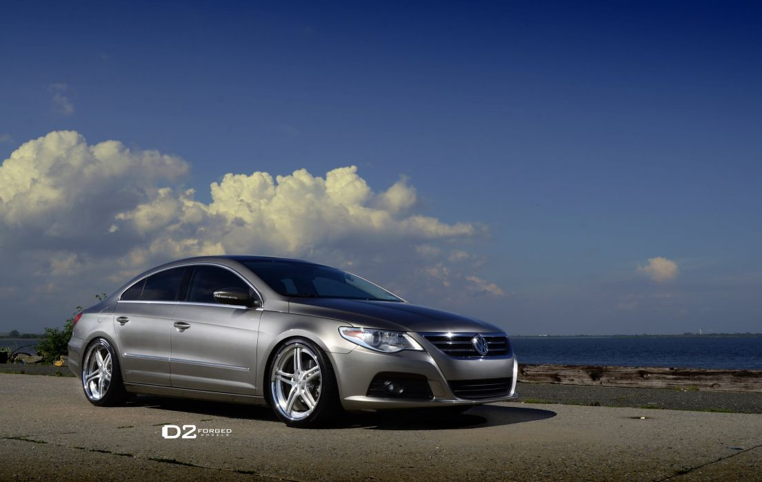 D2FORGED Wheels tuning cars VW CC wallpaper