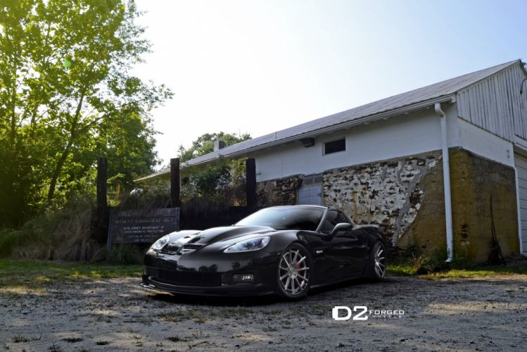 D2FORGED Wheels tuning cars bmw corvette c 6 coupe wallpaper
