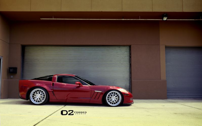 D2FORGED Wheels tuning cars bmw corvette c 6 coupe grand sport wallpaper