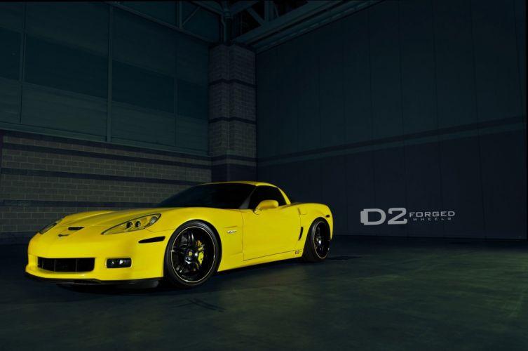 D2FORGED Wheels tuning cars chevrolet corvette wallpaper