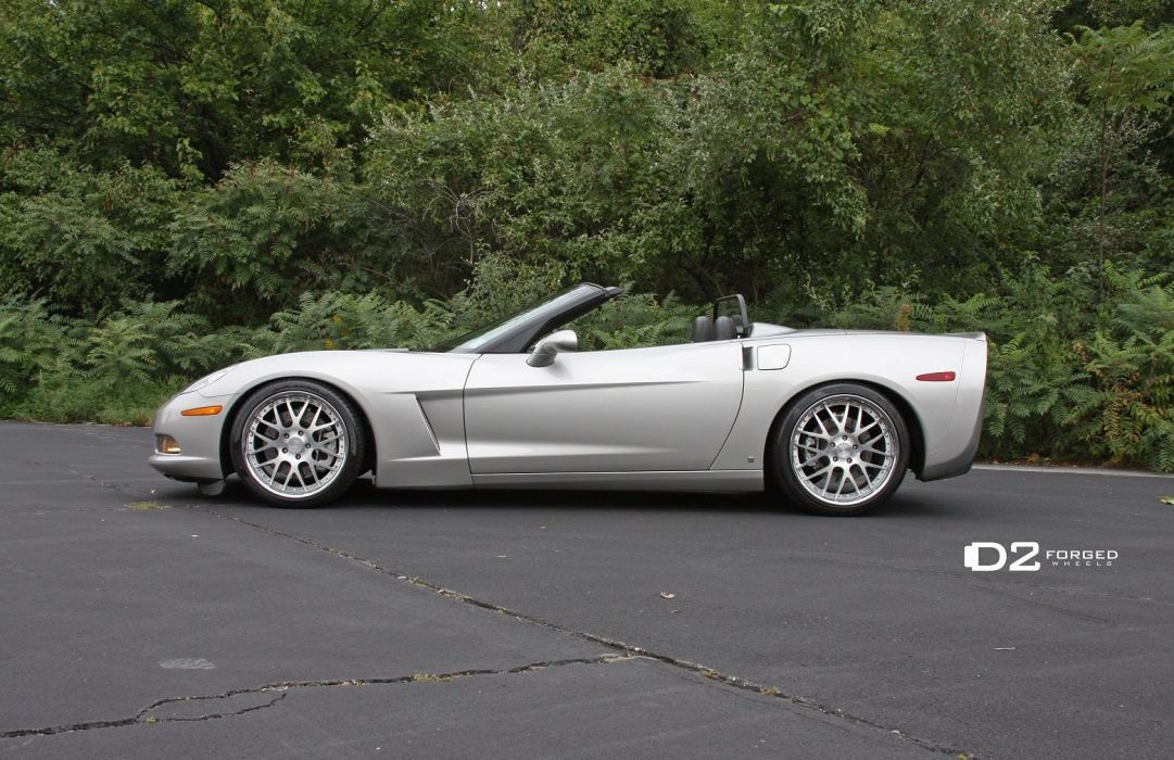 D2FORGED Wheels tuning cars chevrolet corvette wallpaper