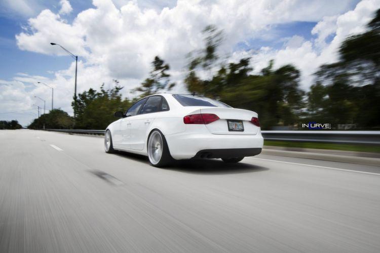 Incurve Wheels tuning cars audi a 4 sedan wallpaper