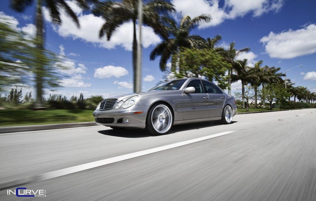 Incurve Wheels tuning cars mercedes e500 wallpaper