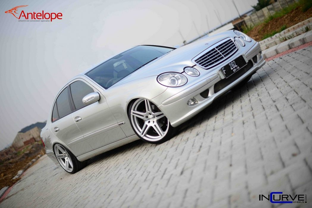 Incurve Wheels tuning cars mercedes E-class wallpaper