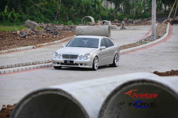 Incurve Wheels tuning cars mercedes E-class wallpaper