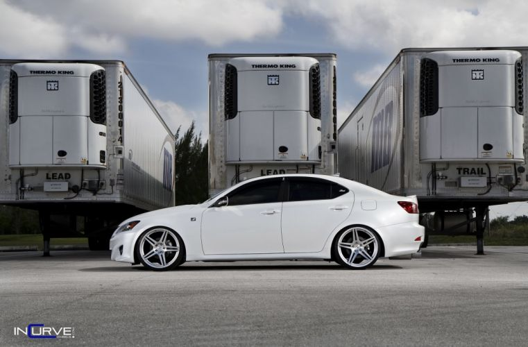 Tuning wheels Incurve cars Lexus IS F-Sport wallpaper