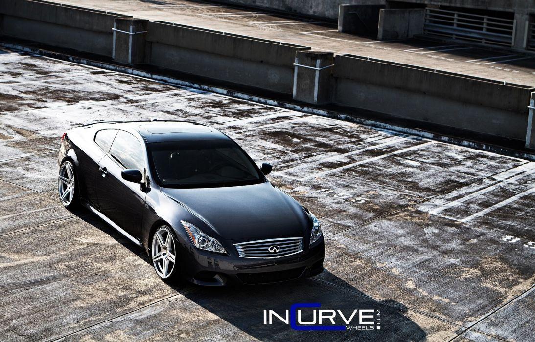 g37 Incurve infiniti Tuning wheels cars wallpaper